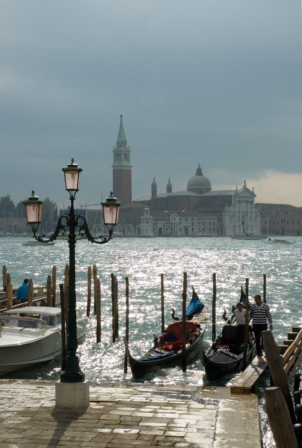 Góndolas Venecia fotos de archivo