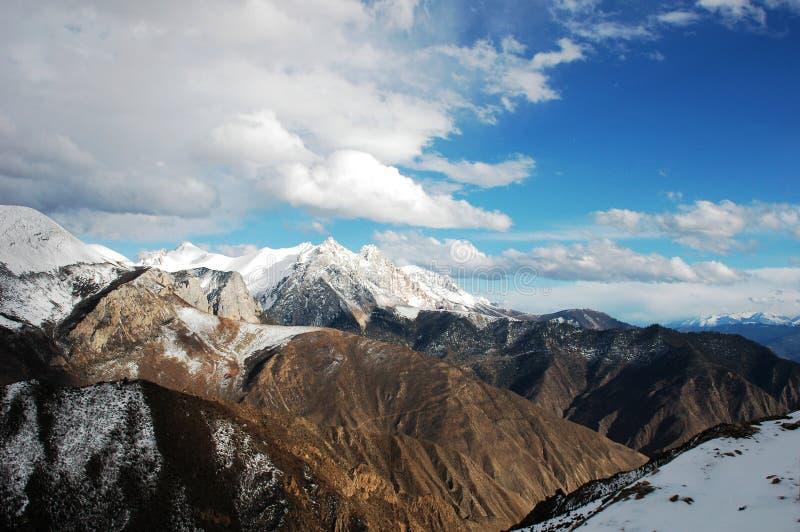 góra śnieg zdjęcie royalty free