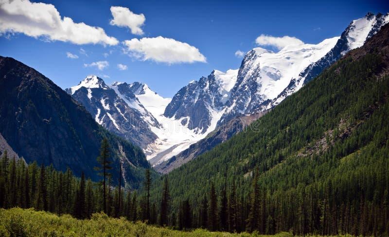 góra śnieg obraz stock