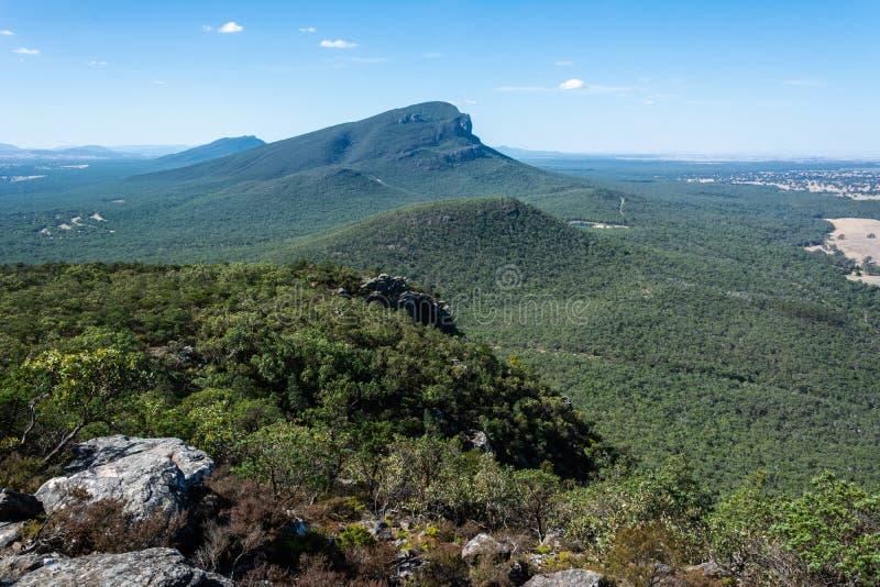 Góra Abrupta w regionie Grampians w Wiktorii, Australia zdjęcie stock