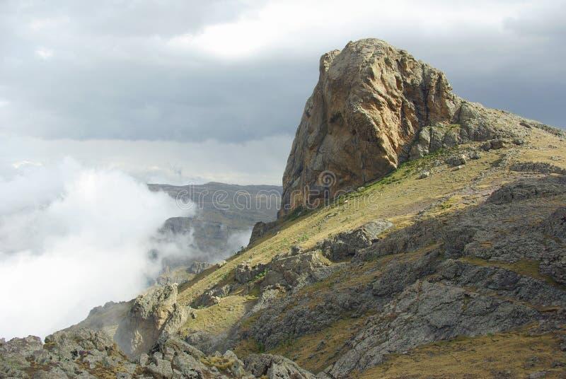 Góra Abune Yosef, Etiopia zdjęcia stock