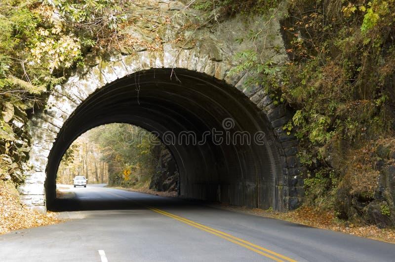 góra boczne tunelu obraz stock