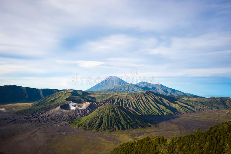 Góra Bromo w Jawa, Indonezja fotografia royalty free