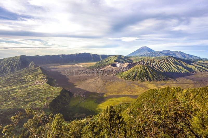 Góra Bromo w Jawa, Indonezja obrazy stock