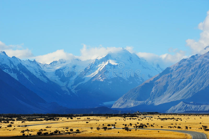 góra Cook obrazy stock