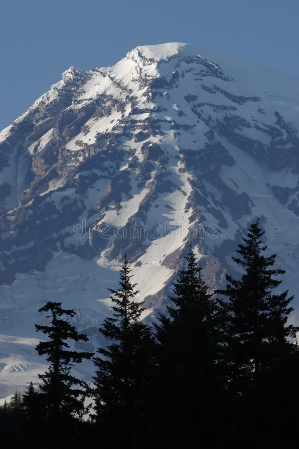 góra dżdżysta zdjęcia royalty free