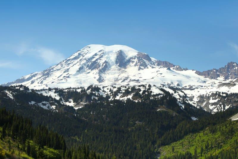 góra dżdżysta zdjęcie royalty free