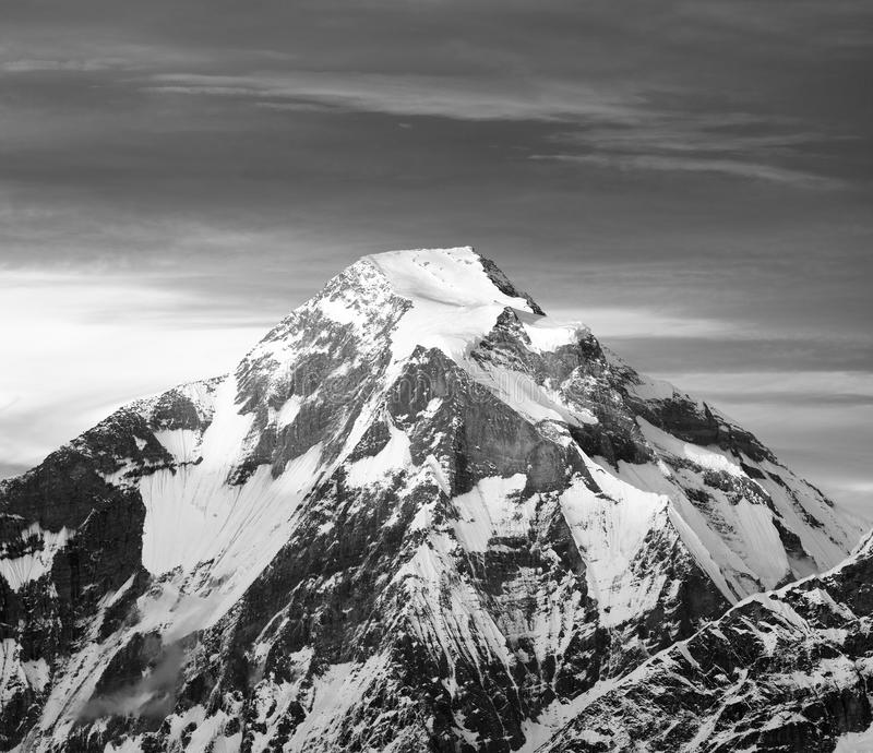 Góra Dhaulagiri obrazy royalty free
