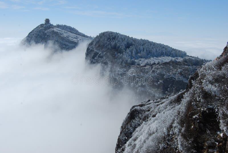 Góra Emei zdjęcie stock