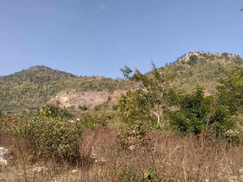 Góra Everest Pahad Hariyali zdjęcia stock