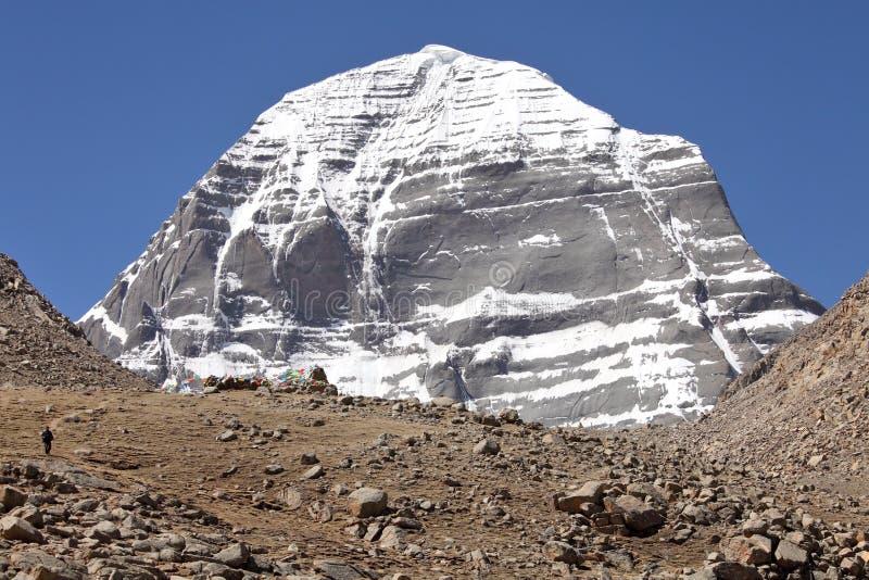 Góra Kailash w Tybet zdjęcia stock