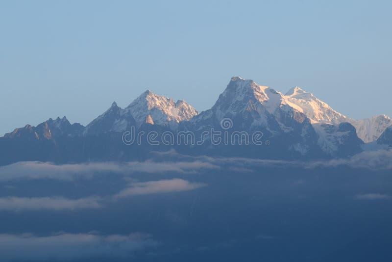 Góra Kanchanjangha obraz royalty free