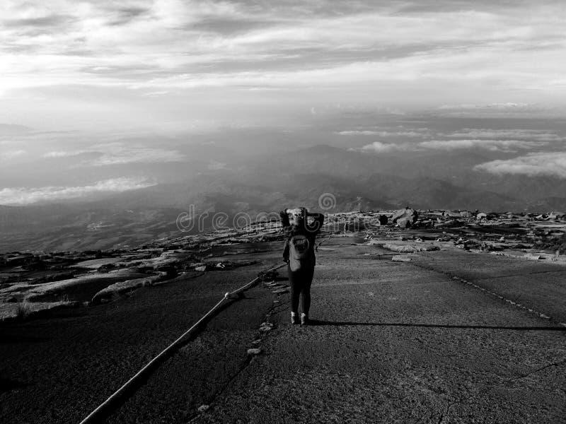 Góra Kinabalu zdjęcie stock
