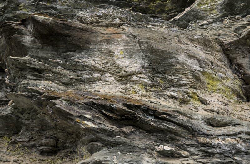 Góra kołysa zbliżenie teksturę obrazy royalty free