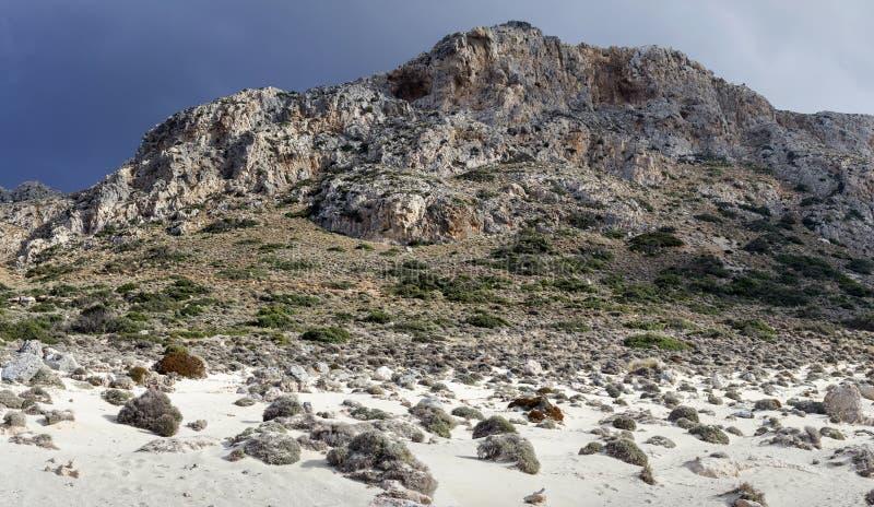Góra krajobraz & x28; Greece& x29; fotografia royalty free