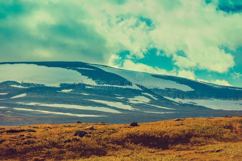 Góra krajobraz w Lapland zdjęcie royalty free