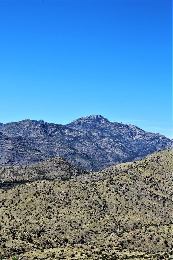 Góra Lemmon, Tucson, Arizona, Stany Zjednoczone obrazy royalty free