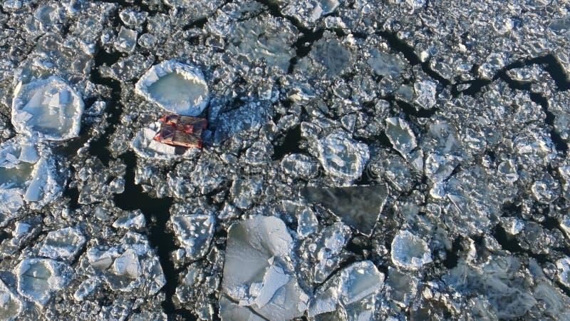 2 góra lodowa obrazy stock