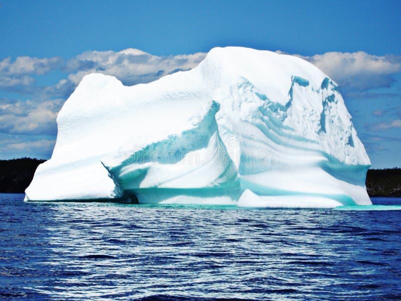 góra lodowa morze zdjęcie royalty free