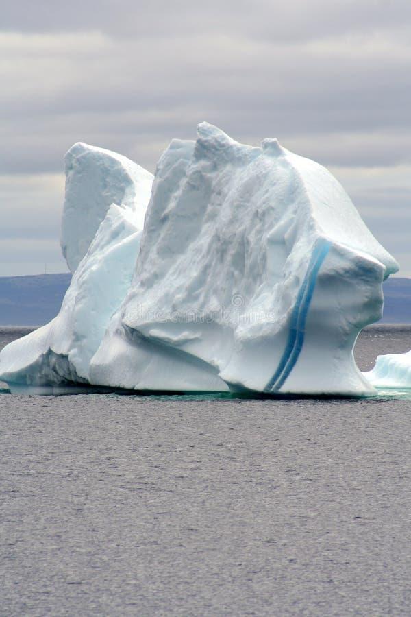 góra lodowa podpalany trinity obraz royalty free