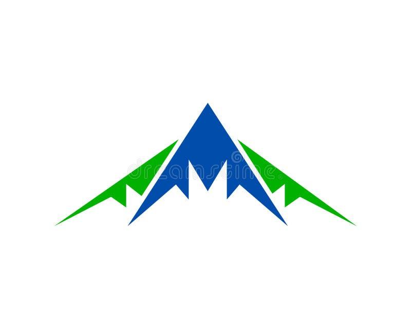 Góra loga projekta wektoru szablon ilustracja wektor
