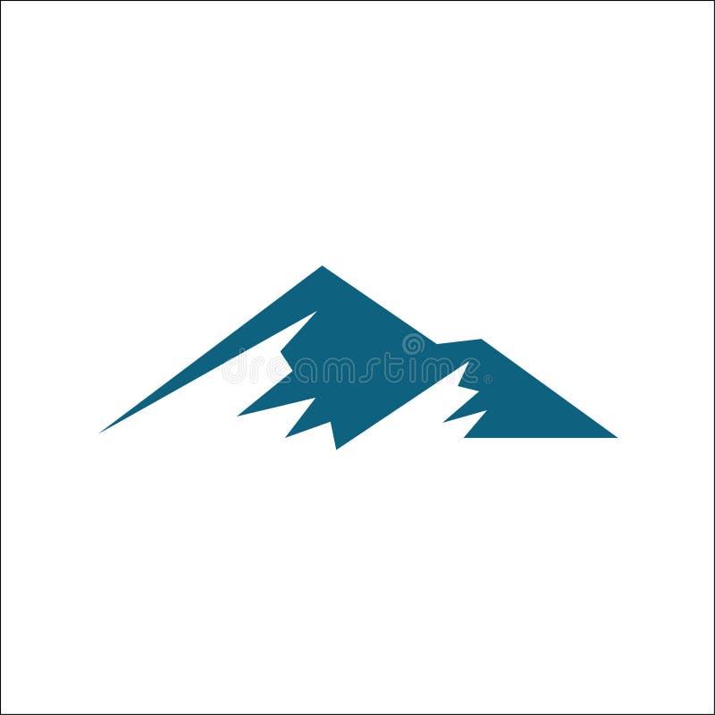Góra logo wektoru szablon royalty ilustracja