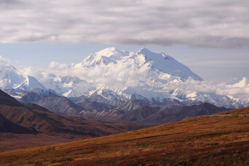 Góra McKinley, Alaska obrazy stock