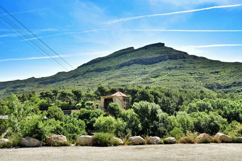 Góra Montserrat zdjęcie stock