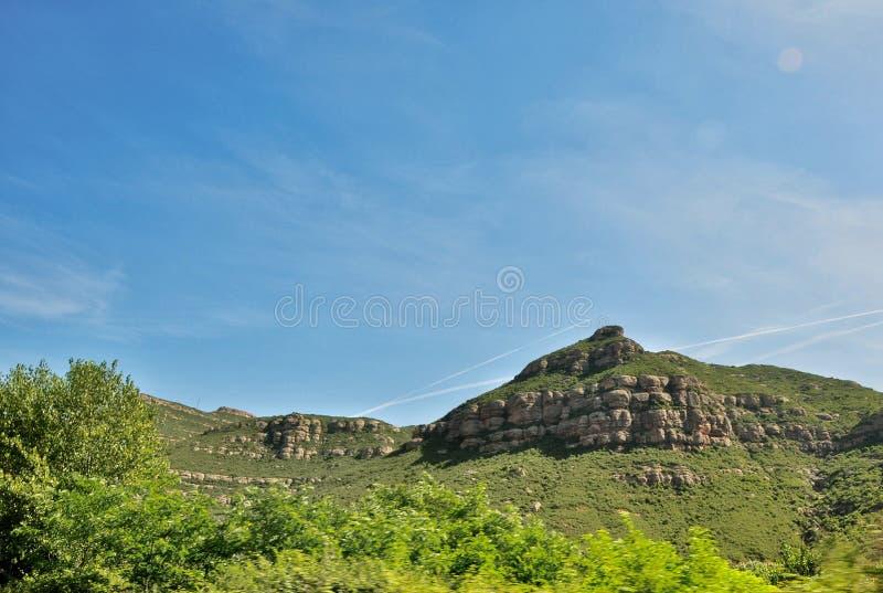 Góra Montserrat obraz stock