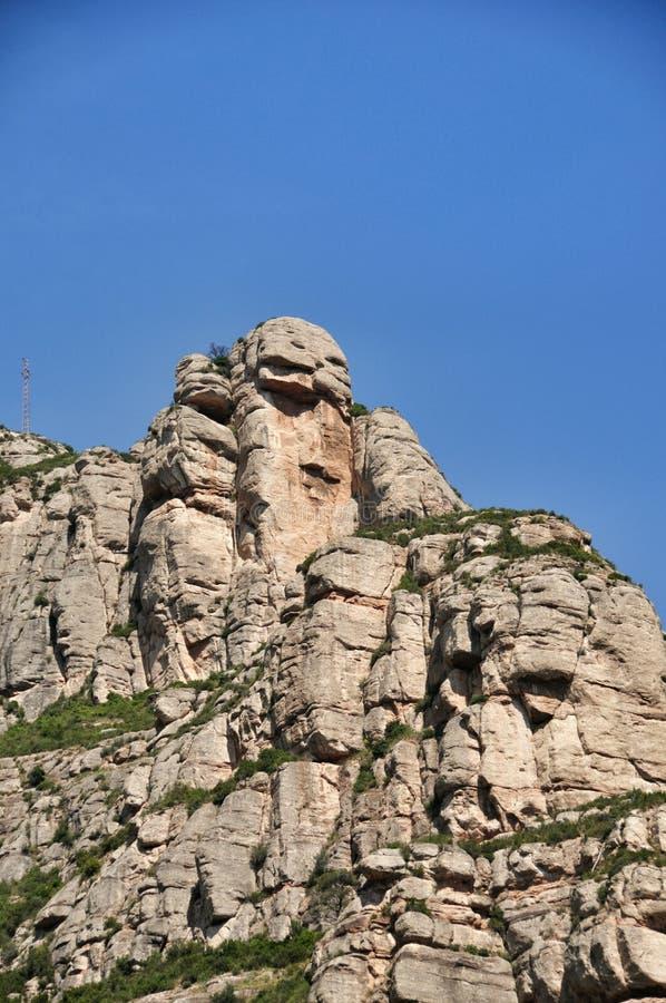 Góra Montserrat obraz royalty free