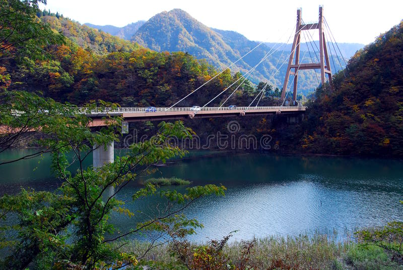 Góra most obraz royalty free