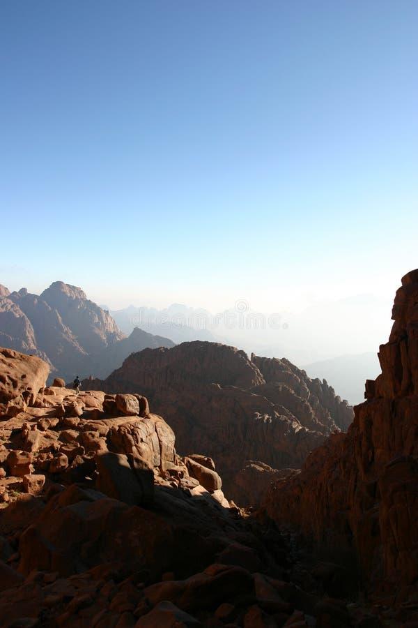 Góra Mt Synaj fotografia stock