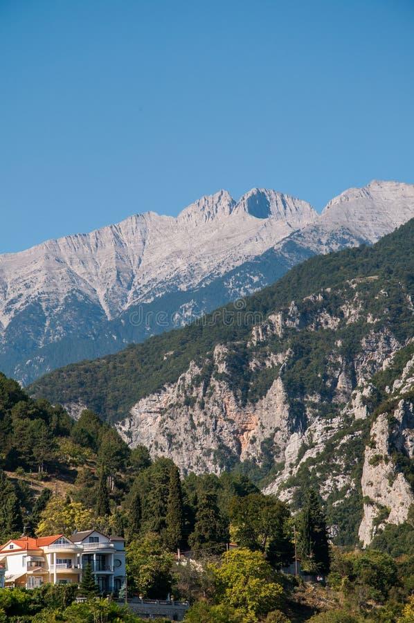 Góra Olympus zdjęcie royalty free