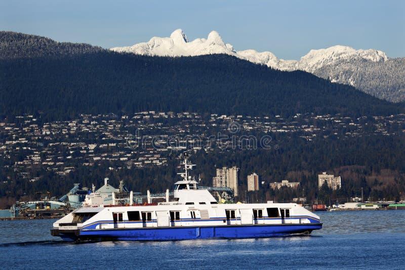 góra promu schronienia lwów góry dwa Vancouver obraz stock