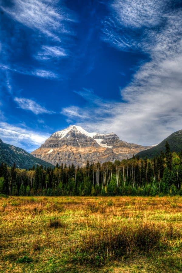 Góra Robson obrazy royalty free