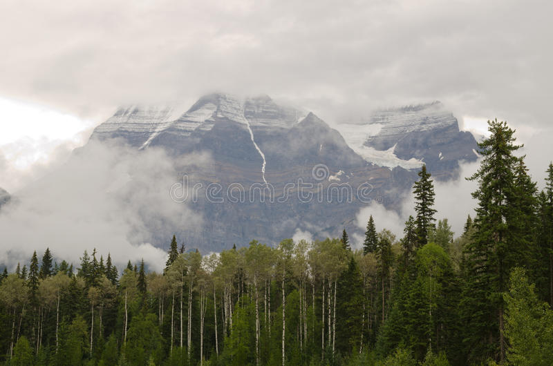 Góra Robson zdjęcia royalty free