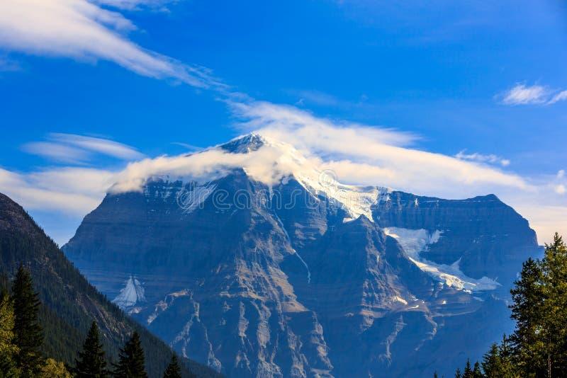 Góra Robson fotografia stock