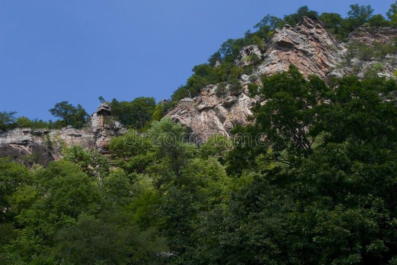 góra rock drzewa fotografia royalty free
