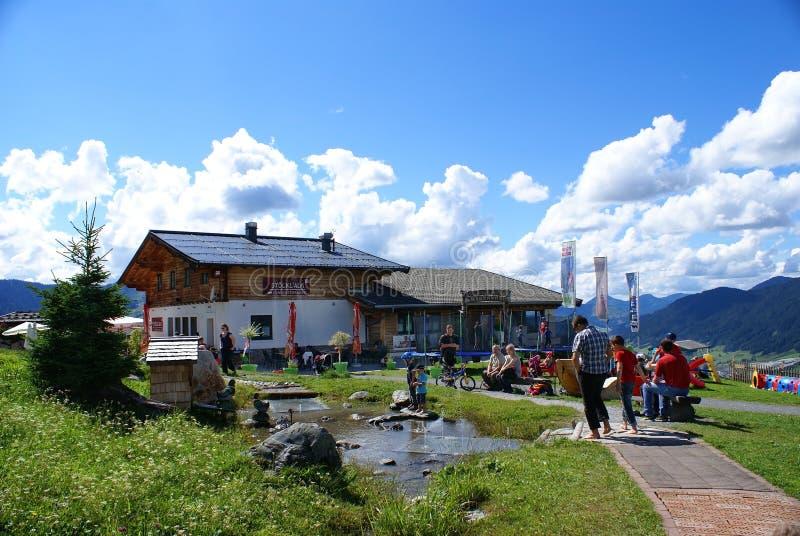 Góra sensy w Alps Halnych obrazy stock