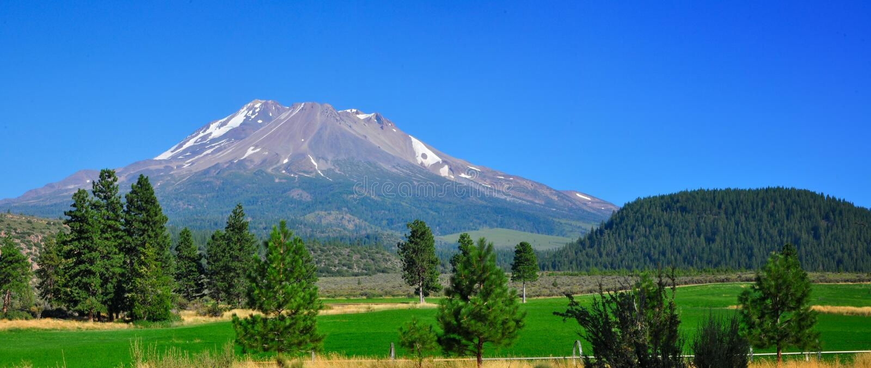 Góra Shasta obraz stock
