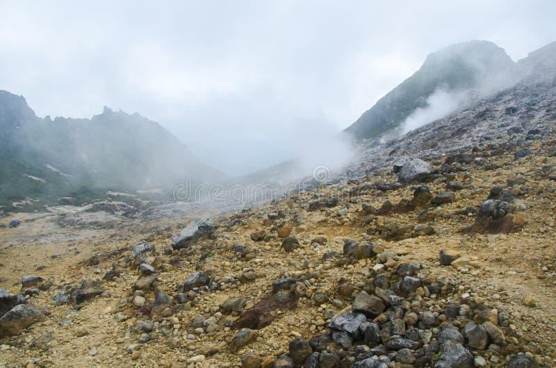 Góra Sibayak, Północny Sumatra, Indonezja fotografia stock