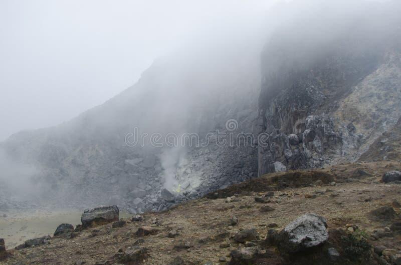 Góra Sibayak, Północny Sumatra, Indonezja obrazy stock