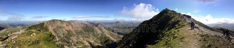 Góra Snowdon zdjęcie stock
