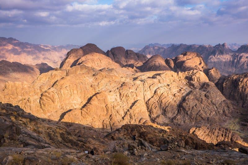 góra synaj Egipt obraz stock