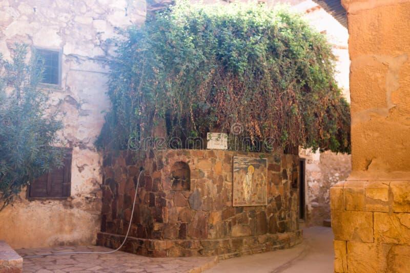 Góra Synaj, góra Mojżesz w Egipt obrazy stock