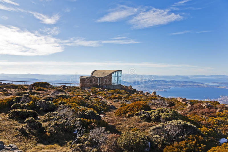 góra szczyt Wellington fotografia stock