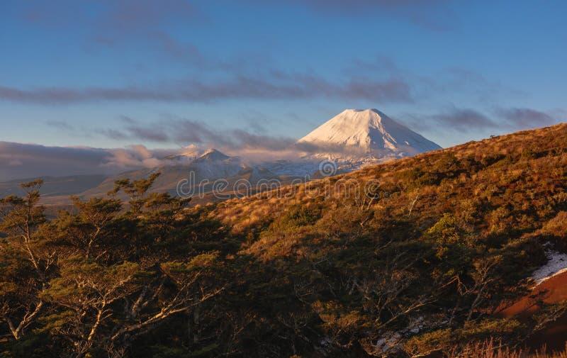 Góra Taranaki, góra Egmont park narodowy, Nowa Zelandia zdjęcia royalty free