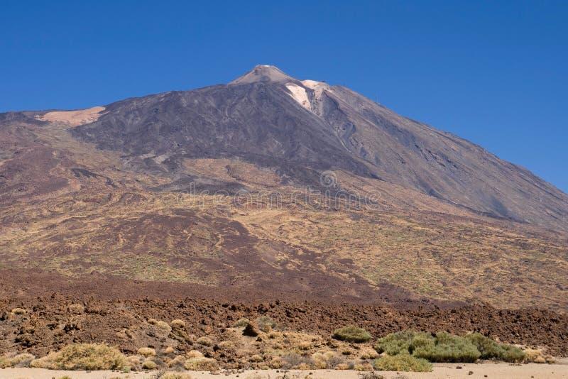 Góra Teide zdjęcie stock
