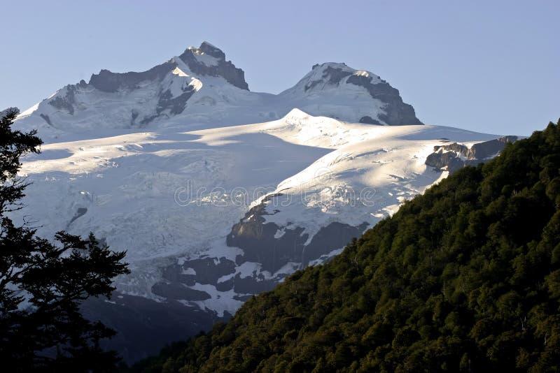 Góra Tronador, Patagonia obrazy stock