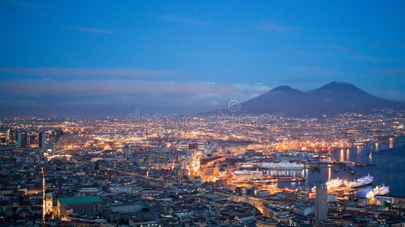 Góra Vesuvius, Naples, Włochy zdjęcie royalty free